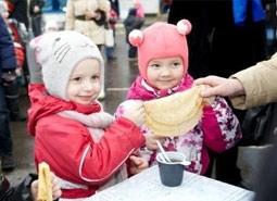 Масленичные гулянья в популярных новостройках Москвы