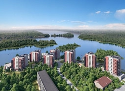 В жилом комплексе «Малая Финляндия» закончен жилой дом «Тампере»