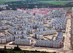 95 новостроек построили в Пушкинском районе за 2012 год