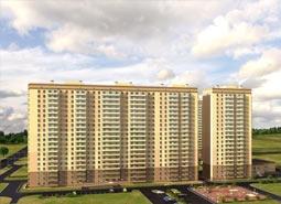 Новостройку «Мой город» начала строить в Мурино компания «Полис Групп»