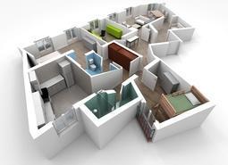 В новостройках эконом-класса многокомнатные квартиры составляют 10% объема